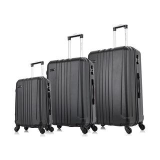 Travel Vision 3 Pcs Set Linear Black 20/26/28Cm
