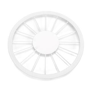 Alberto Steel Trivet For Hot Pots White