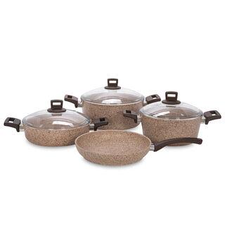 Alberto Granite Cookware Set Of 7 Pieces