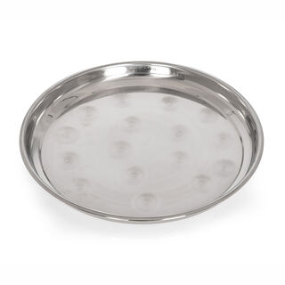 Alberto Stainless Steel Round Serving Tray