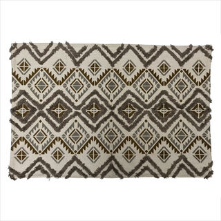 Cotton Rug Tufted Printed
