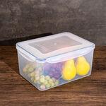 Alberto Plastic Food Saver Rect Shape V:7.8L Blue Lid image number 3