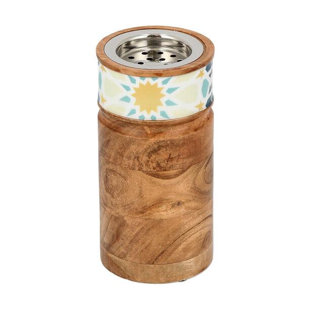 Oud Burner Wood Arabesque image number 1