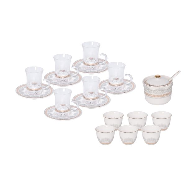 Tea & Coffee Set Of 20 Pieces image number 0