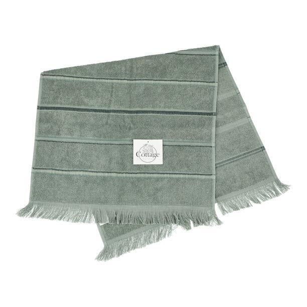Hand Towel Stripe Green image number 0