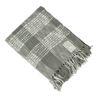 Cottage Throw Woven Grey 125X150 Cm