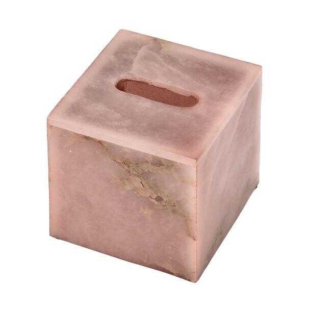 Tissue Box Rose Quartz Premium Stone image number 3