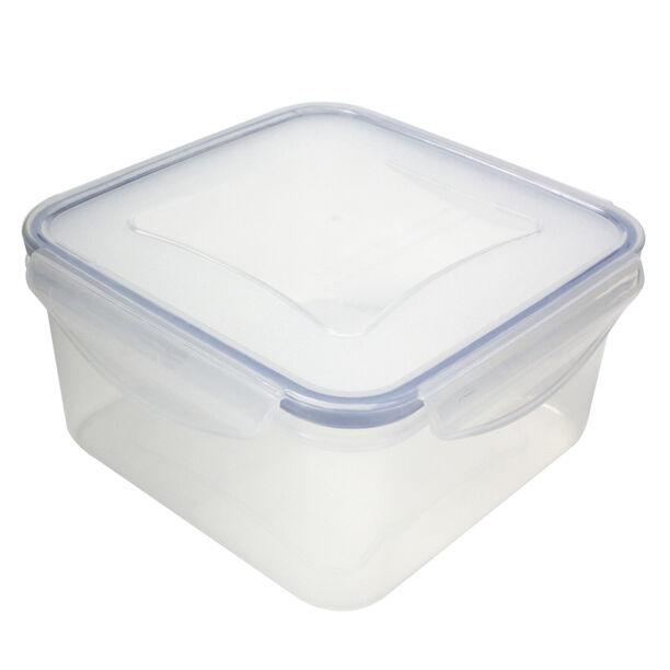 حافظة طعام بلاستيك مربعة سعة 1.2 لتر من البرتو image number 0