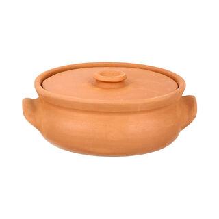 Clay Pan Handmade Lined Small