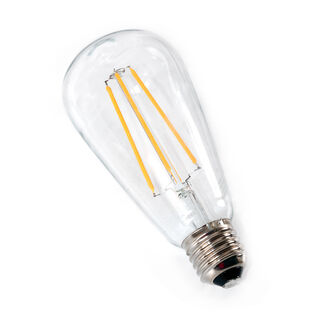 Decorative Led Bulbs Clear Glass Lumen10000H 3.6W