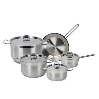 Alberto Stainless Steel Cookware Set 9 Pieces