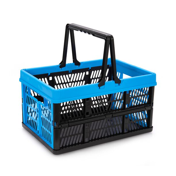 Collapsible Storage Basket 28L With Handle image number 0