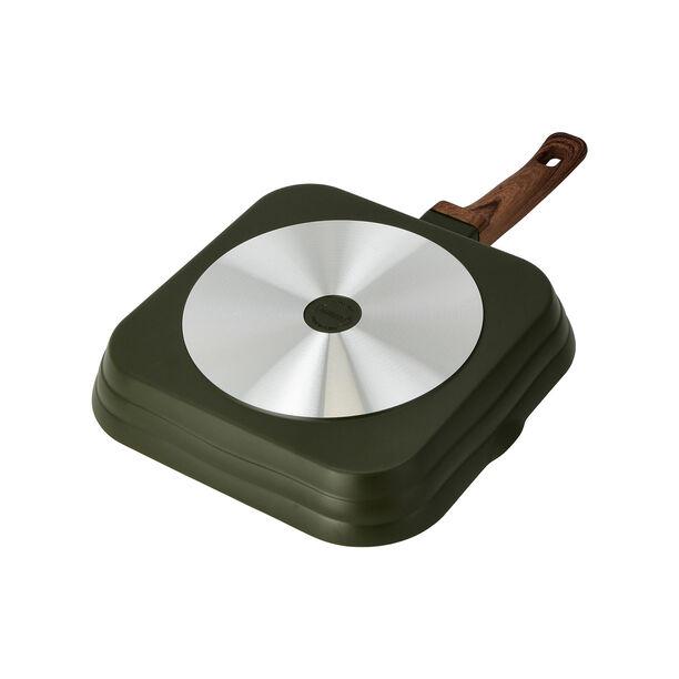Cast Alu. Ceramic Grill Pan 28Cm Olive Marble image number 2