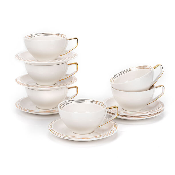 English Tea Cups Set Gold image number 2
