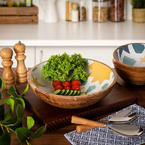 Arabesque Round Bowl Large image number 4