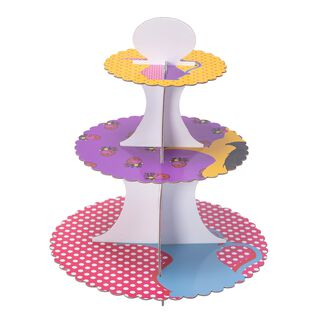 Heritage 3 Tiers Paper Cake Stand