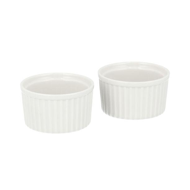 2 Pcs Porcelain Round Ramekin image number 1