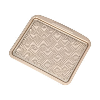 Alberto Non Stick Cookie Sheet, Gold Color