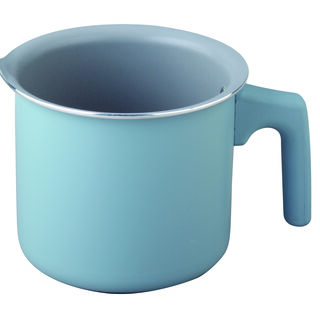 Non Stick Milk Pan With Handle Blue