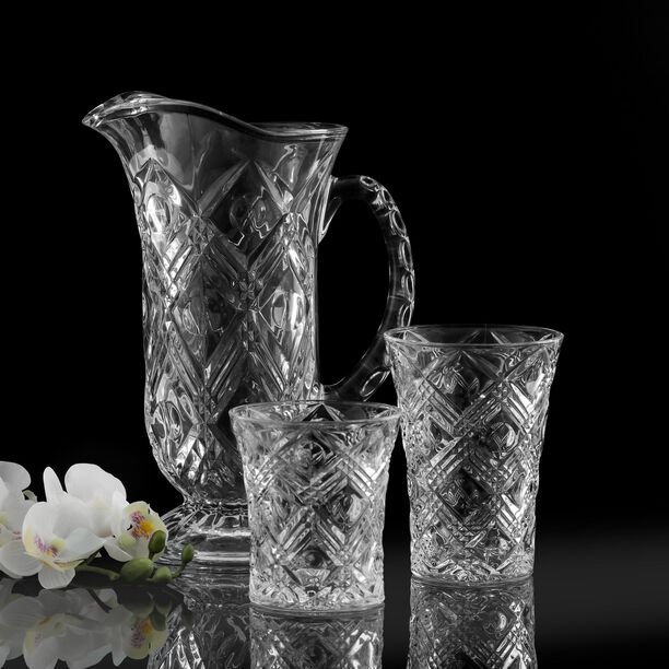 La Mesa Sofiero Glass Drink Set 13 Pieces image number 1