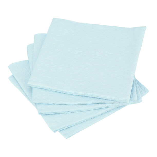 Elegance Serving Napkins Paper Square Blue image number 0