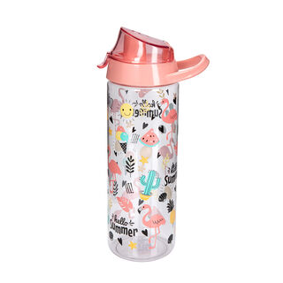 Herevin Plastic Sports Bottle  V-0.75L - Hello Summer Design