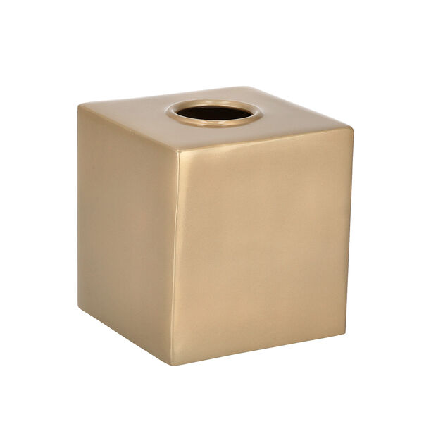 Maddie Bath Tissue Box Gold image number 0