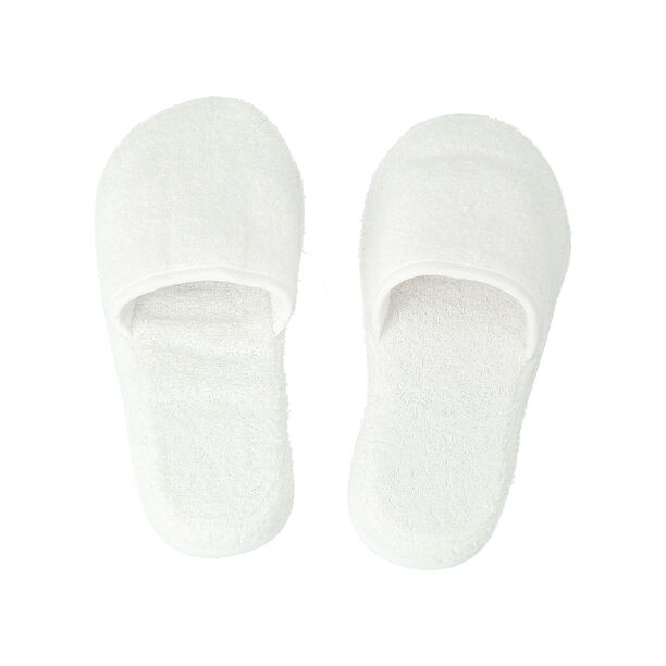 Bath Slippers White S/M image number 1