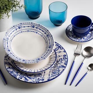Rio Portugues Azul 20Pcs Dinner Set