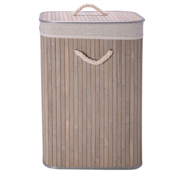 Bamboo Hamper Grey image number 1