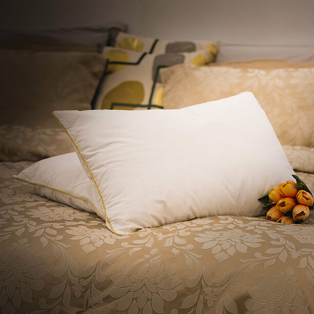 Golden Rope Pillow image number 0