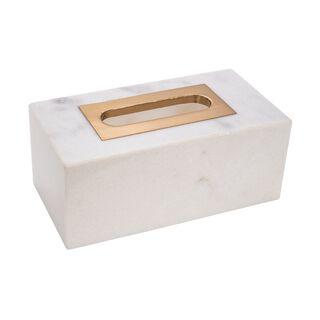 Marble Rectangular Tissue Box