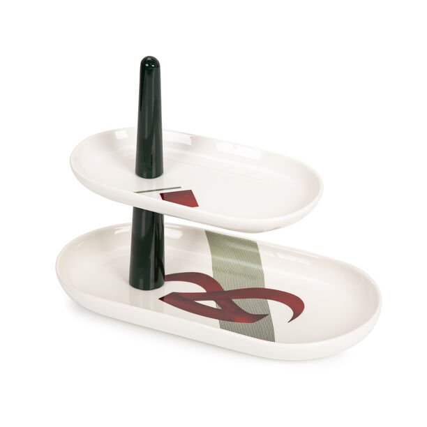 Arabgraph 2 Tier Cake Stand image number 1