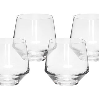 4 Pcs Set Dof Clear Glass