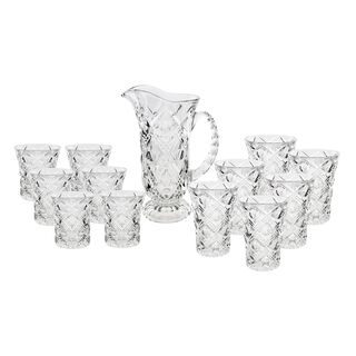 La Mesa Sofiero Glass Drink Set 13 Pieces