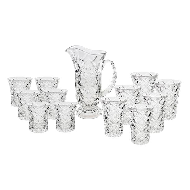 La Mesa Sofiero Glass Drink Set 13 Pieces image number 0