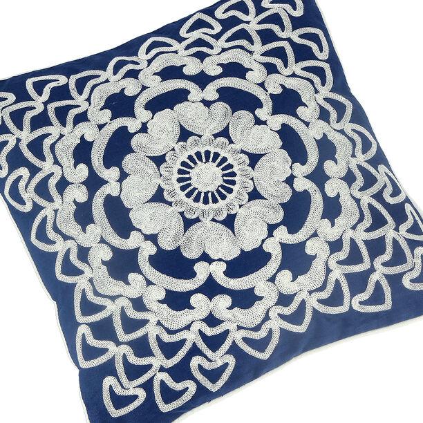 Embroidery Cushion Santorini Oriental image number 2