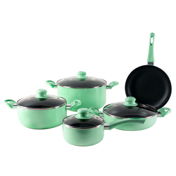 Alberto Non Stick Cookware Set 9 Pieces image number 1