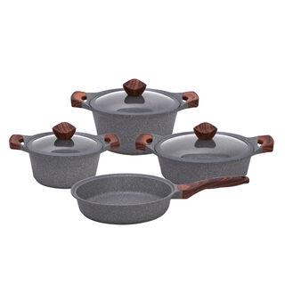 Alberto Yeni Granit 7Pcs Cookware Granistone