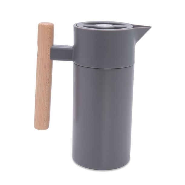 Dallety Steel Vacuum Flask Nature Gray 1.2L image number 0