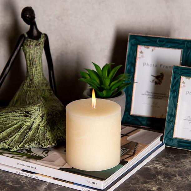 Pillar Candle Sense Rustic Ivory  image number 2