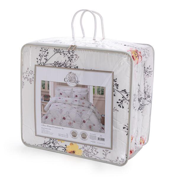 Yade Microfiber Comforter Set King Size 5 Pieces image number 2