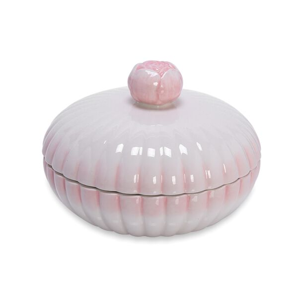 Dolomite Candly Bowl With Cover image number 0