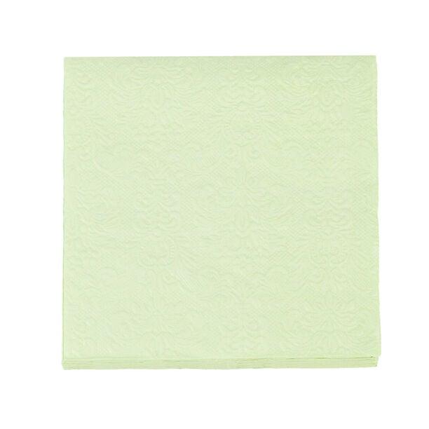 مناديل ورقية مربعة الشكل اخضر من الجانس  image number 1