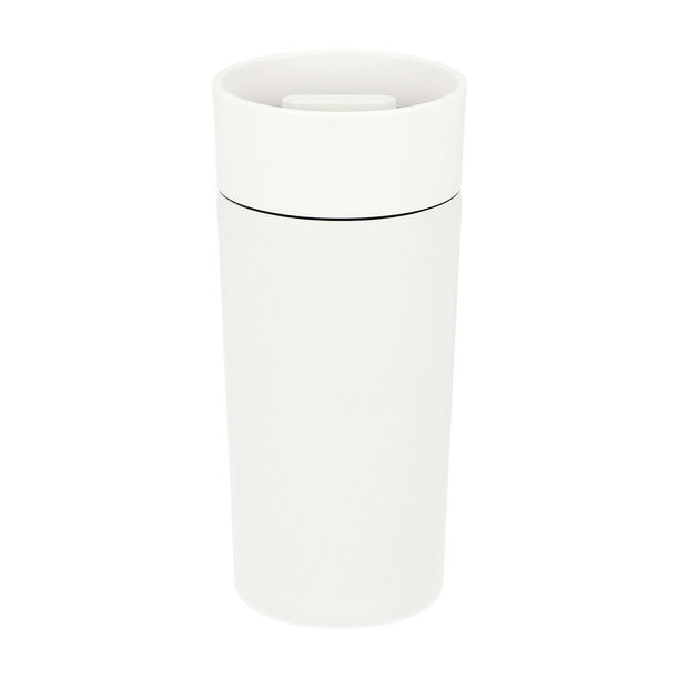 Thermo Mug Inclination 350Ml Stainless White image number 0