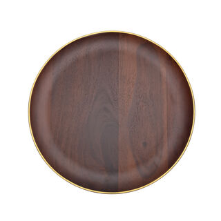 Wooden Under A Plate