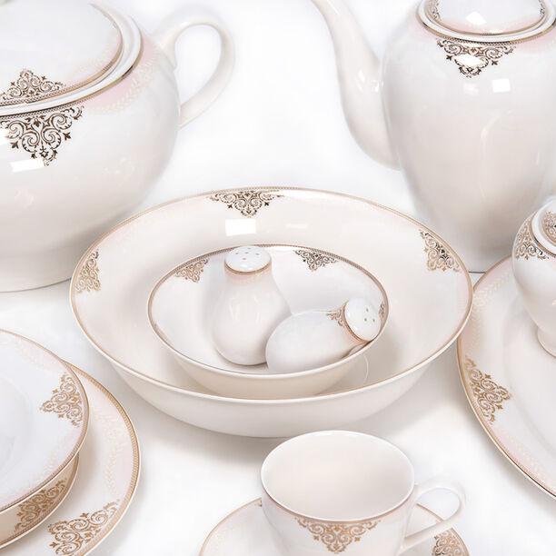 La Mesa 85 Pieces Porcelain Dinner Set image number 1
