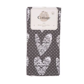 Cottage 2 Pieces Kitchen Towel Set L- 60 * W- 40Cm -  Vintage  Design