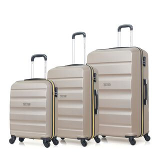 "Travel Vision Set Of 3 20/26/30"" Champane"
