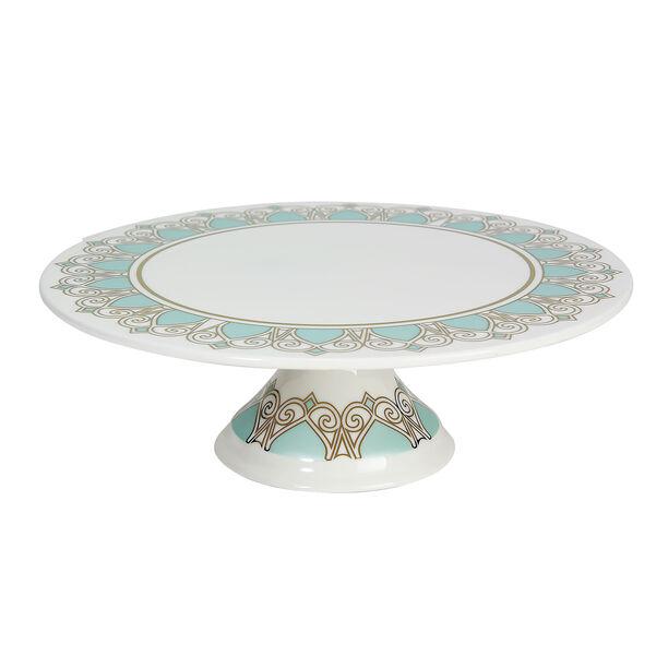 Porcelain Cake Stand Fairouz New Bon Gold image number 0